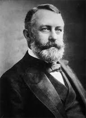 black and white photo of Henry Clay Frick